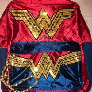 New DC Wonder Woman sateen backpack